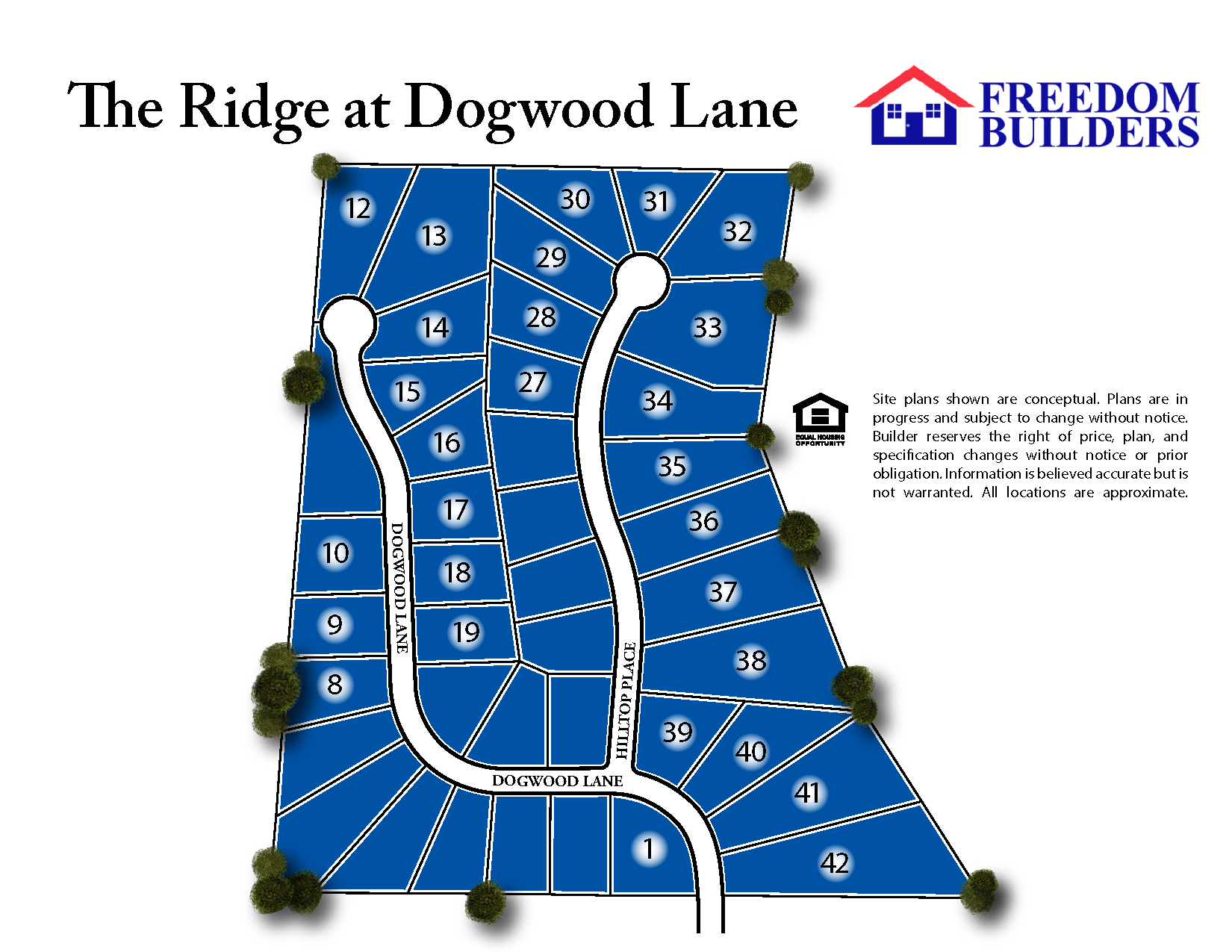 The Ridge at Dogwood Site Map